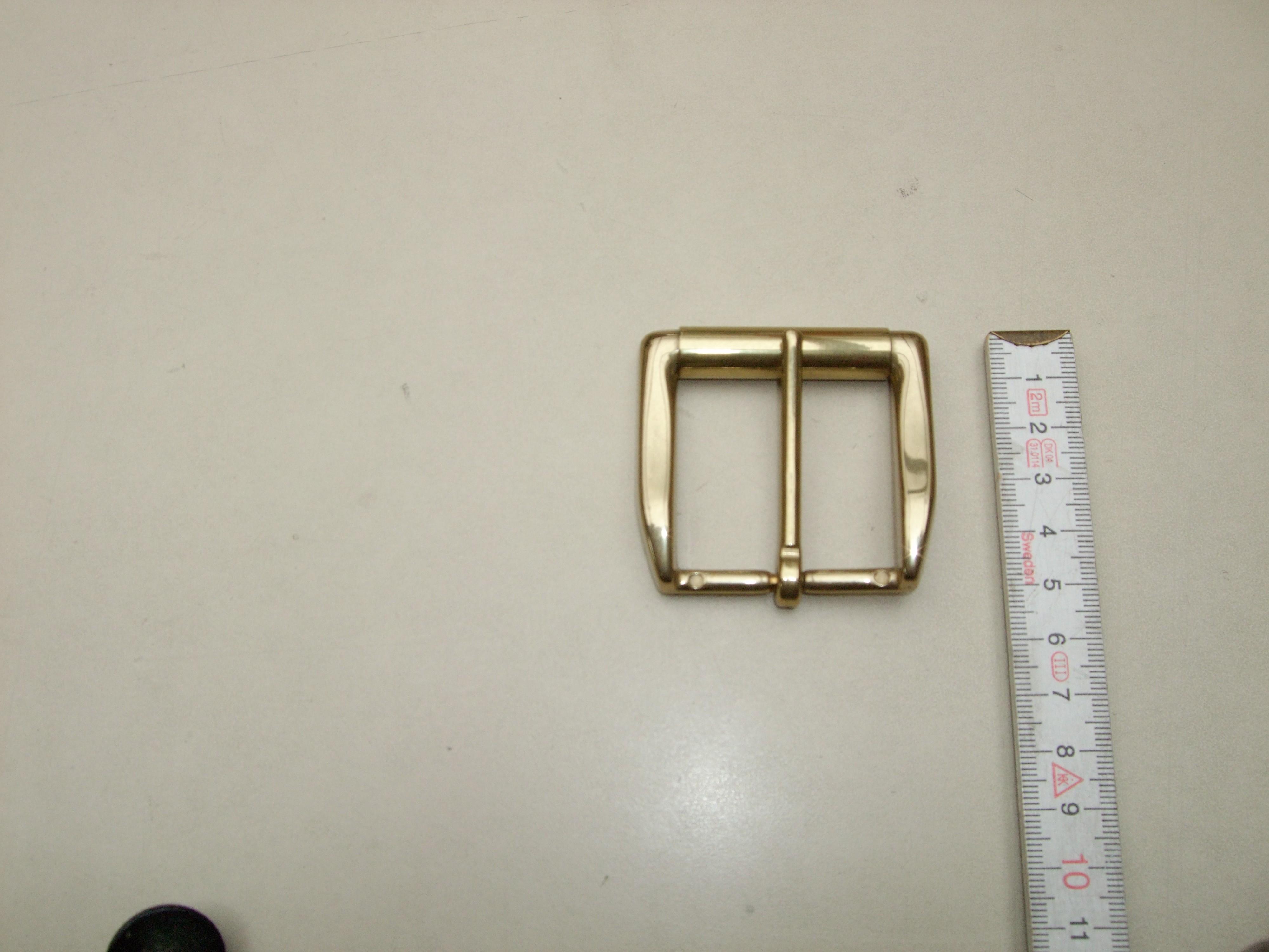 4 cm Messingrollschnalle (RS19262/40ME)
