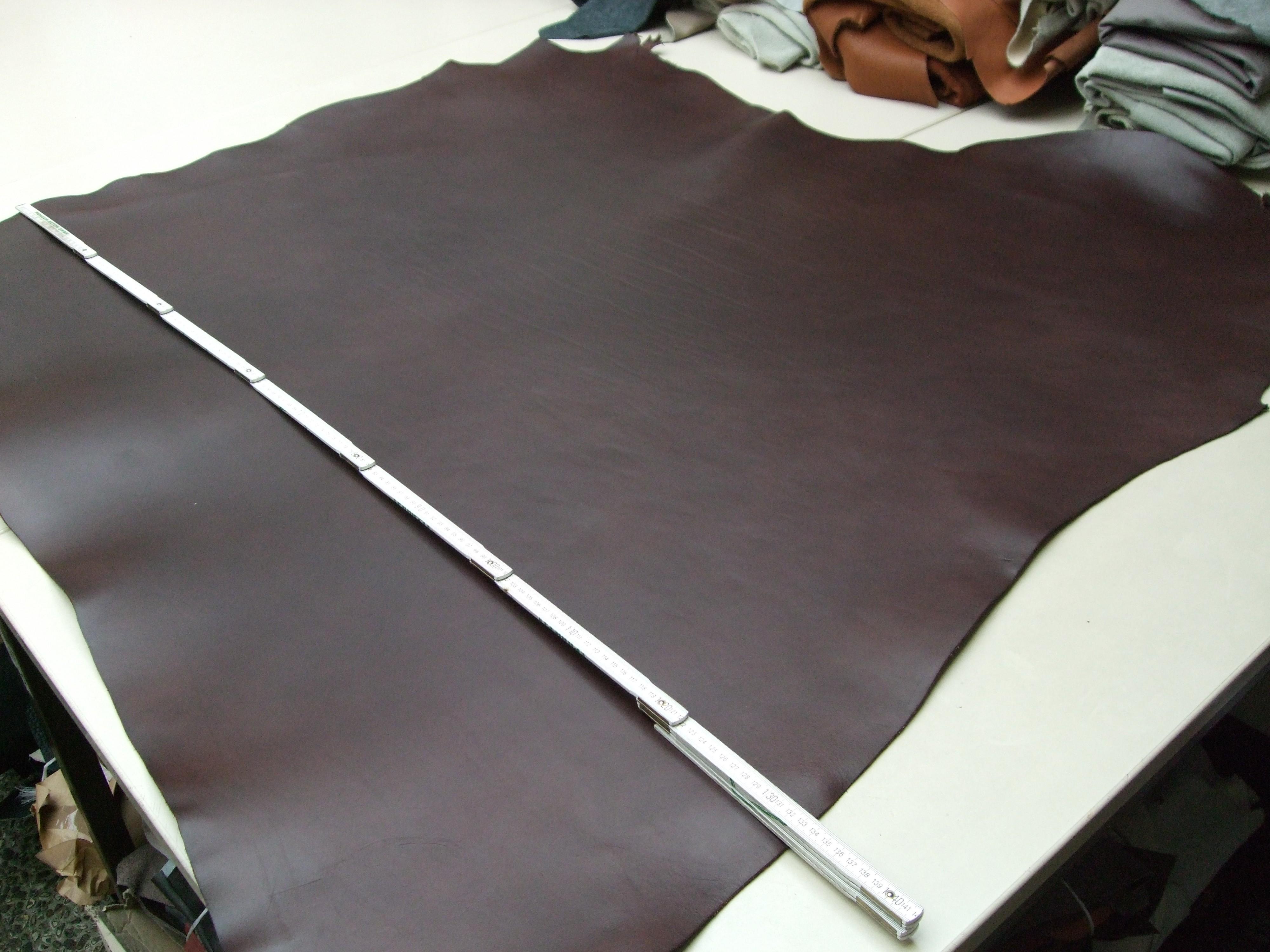 Rinderhals (E) dunkelbraun (E185350B) 3mm (E)