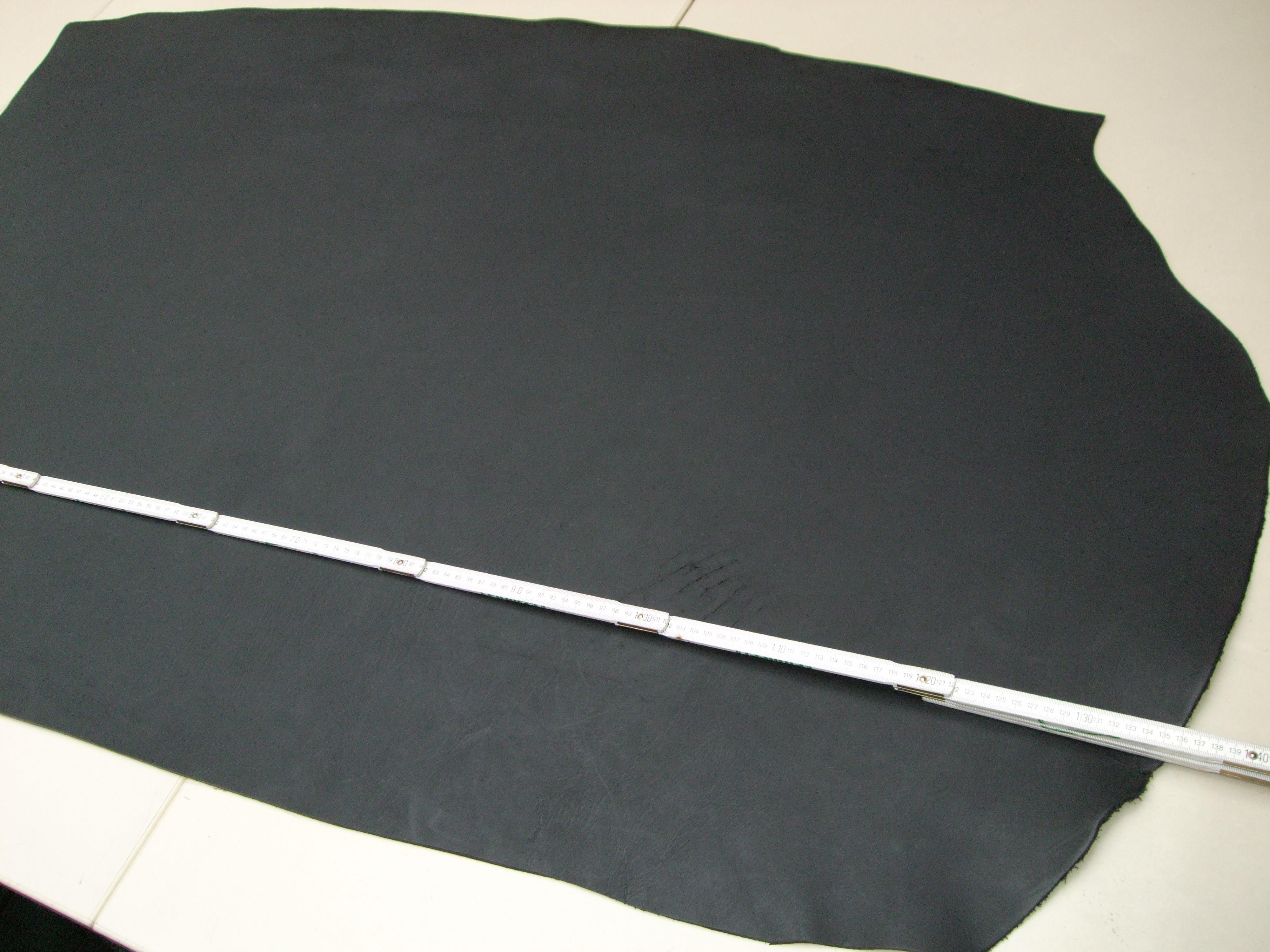 Wasserbüffelcroupon, matt schwarz 3,5 mm (EC2036S)  Zur Zeit ausverkauft