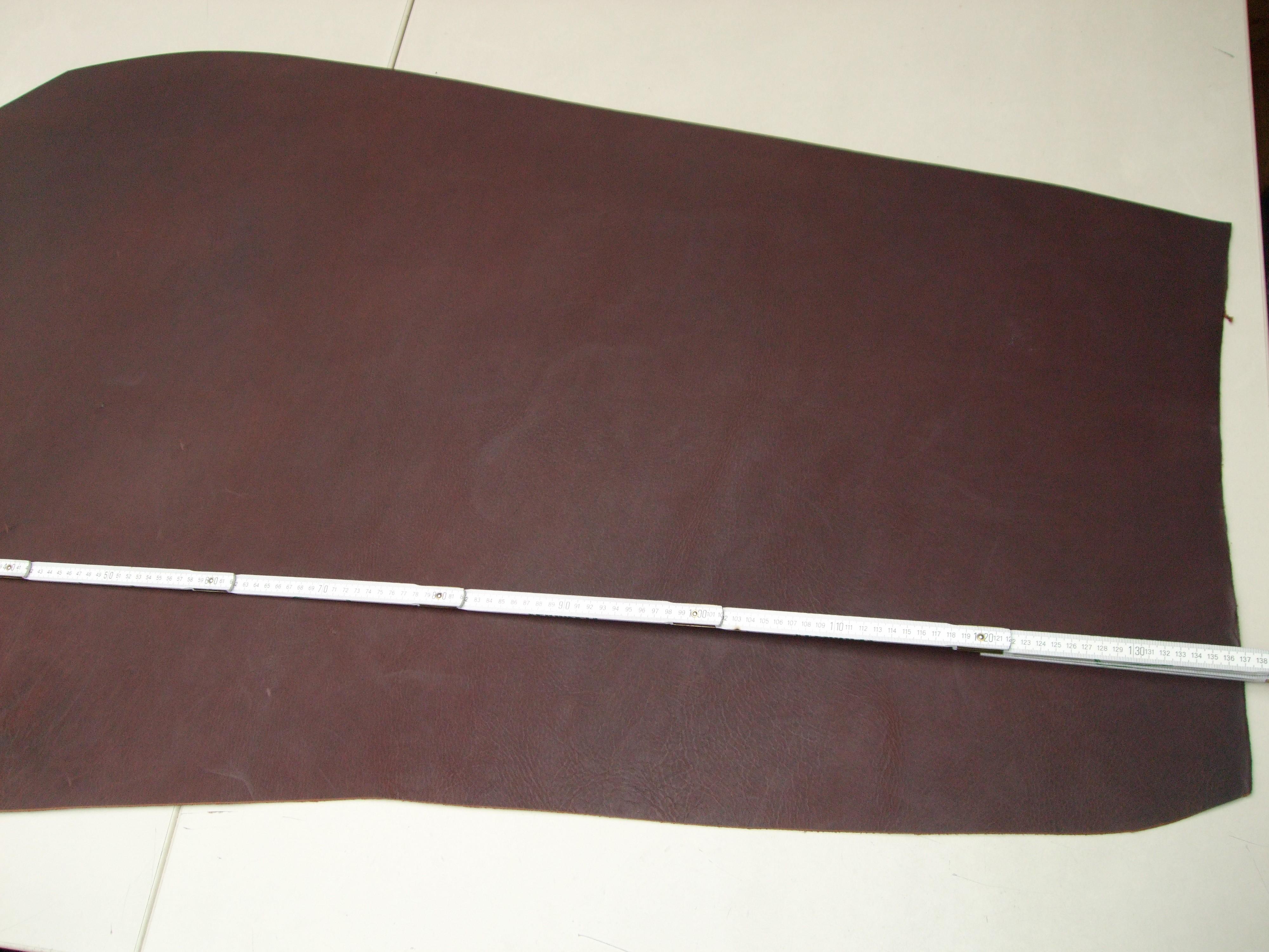 Wasserbüffelcroupon, braun V184650B