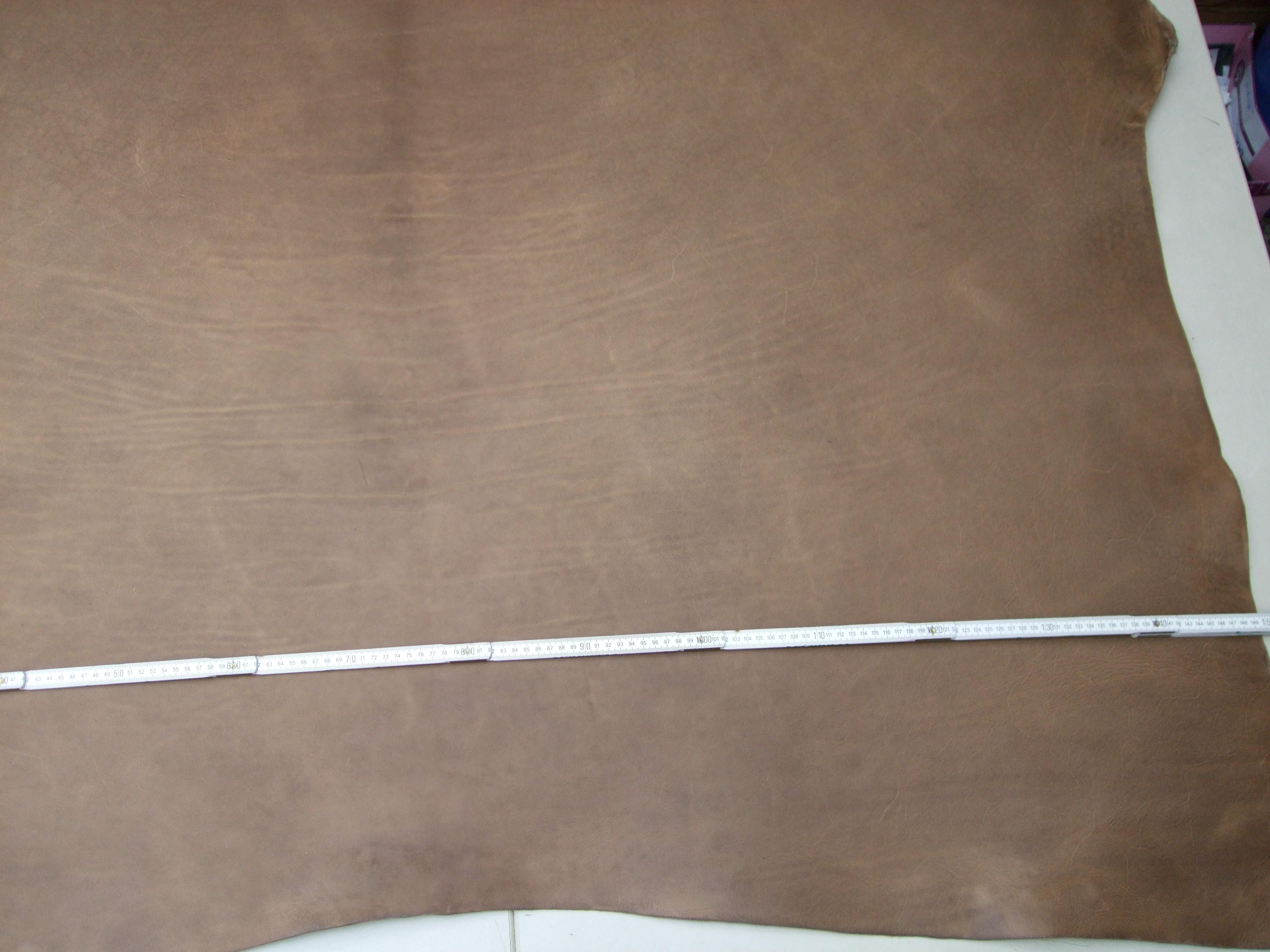 Rinderhälse (I) gefettet, sand-antik (E1867SA) 3,8mm. Zur Zeit Ausverkauft.