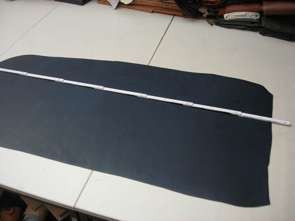 Wasserbüffelcroupon dunkelblau ca. 3,5 mm  (EC2036BL) Zur Zeit leider ausverkauft.