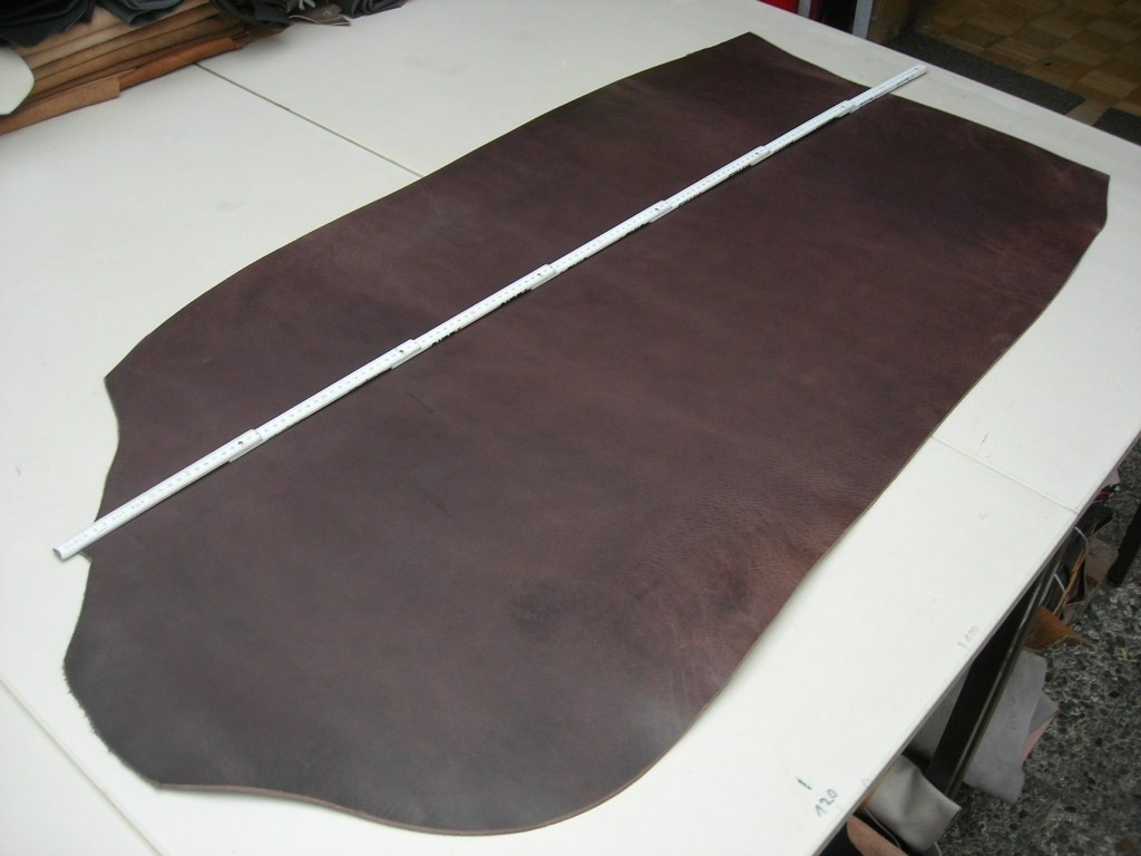 Wasserbüffelcroupon Pine poliert 3,5 mm (EC2036PP)  Zur Zeit ausverkauft