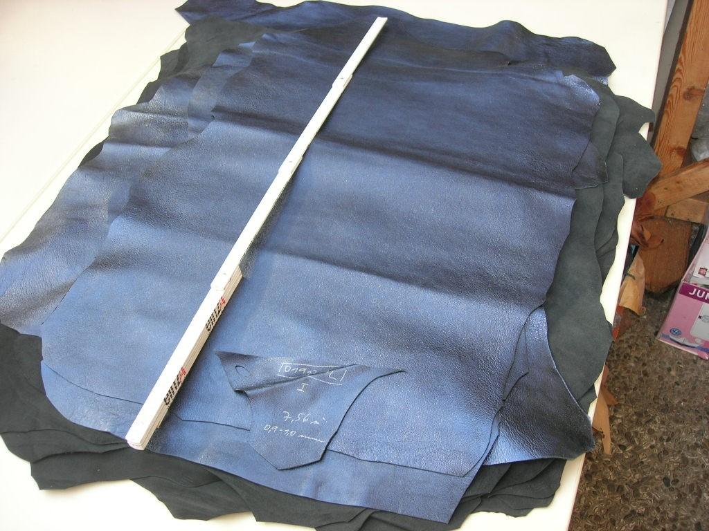 Lammnappa blau metallic 0,9-1,0mm (O1917ML)