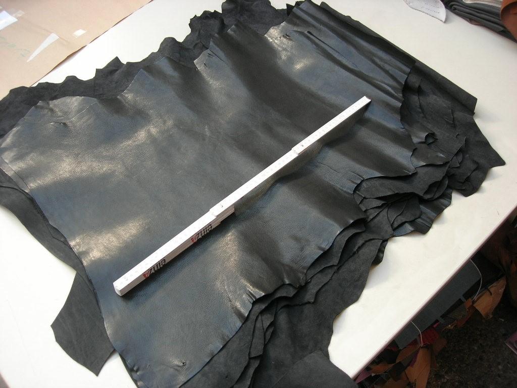 Ziegenleder schwarz 1,0 mm (T1917ZS)
