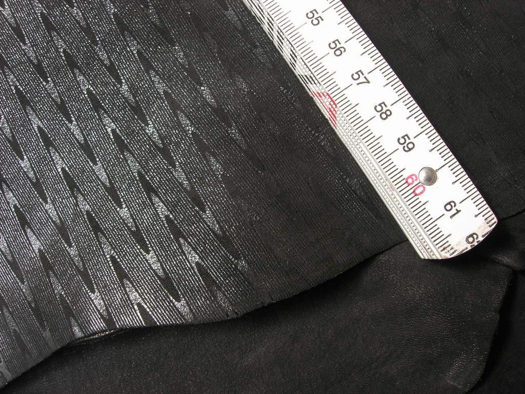 Ziegenleder schwarz carbon 1,0 mm (C1612KC)