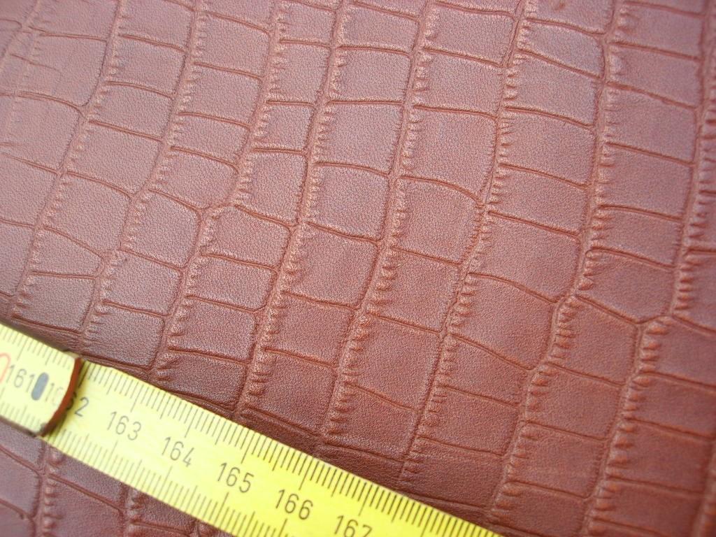 Rindbox mittelbraun kroko 1,3 mm (T2017KB)