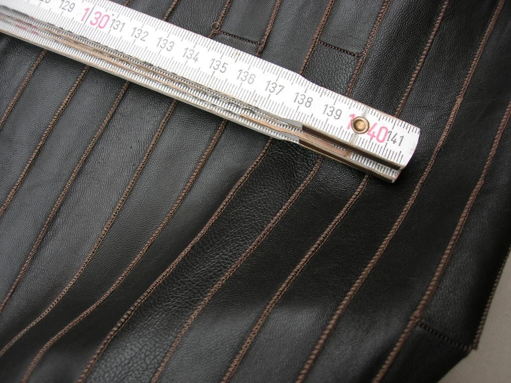 Aallederimitat dunkelbraun 0,6 mm (A1215K)
