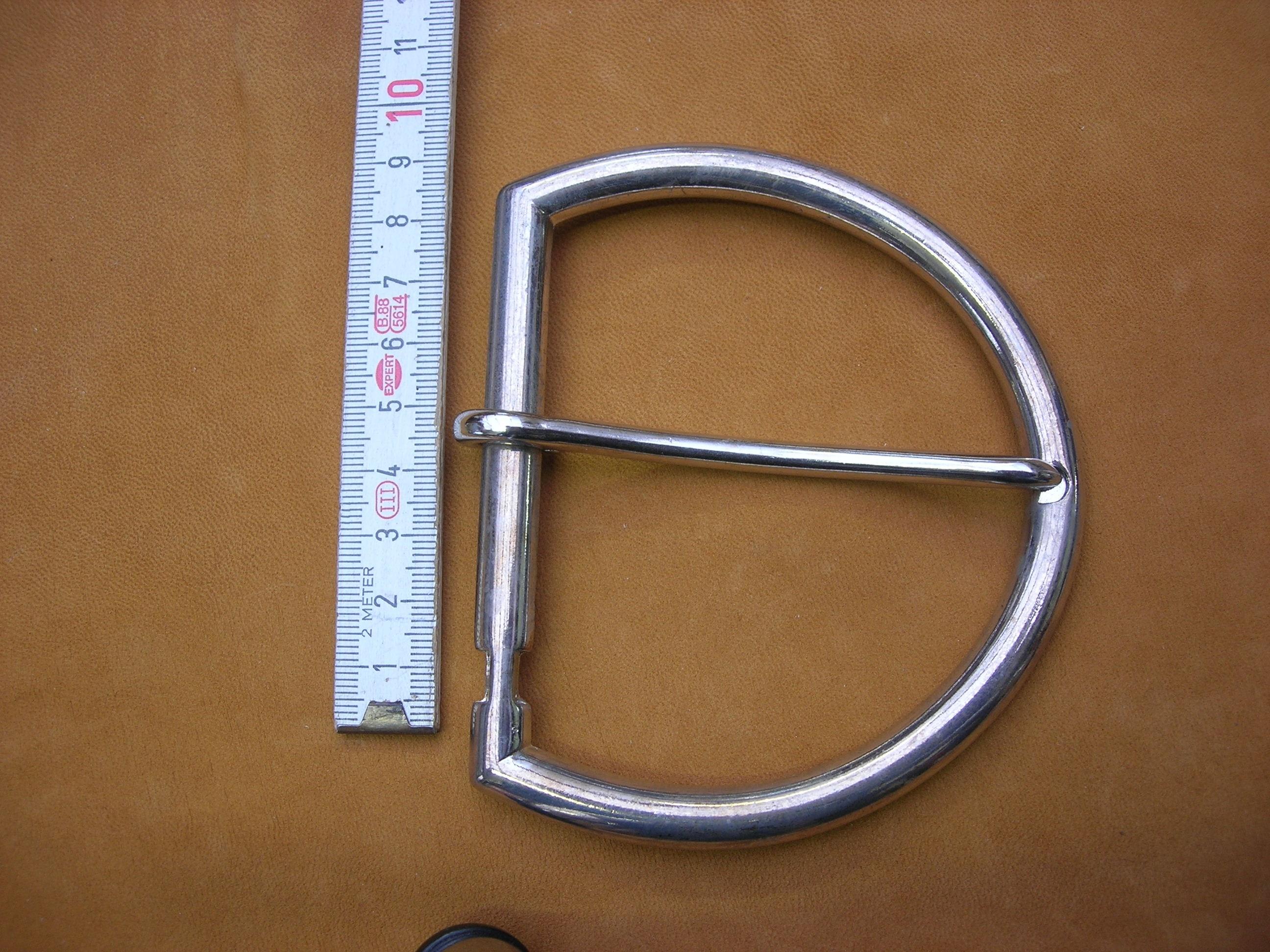 Halbschnalle 8cm (SP4) Ni