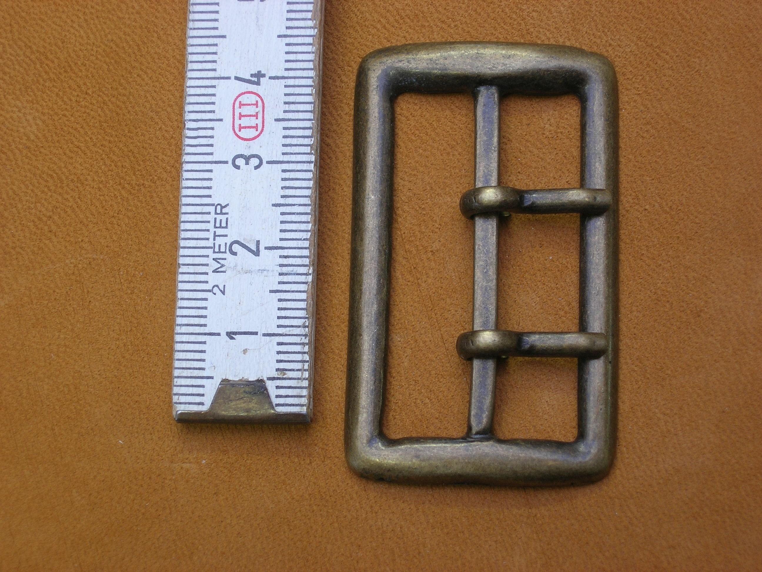 Doppelschnalle 4cm ame Doppeldorn (SP13)