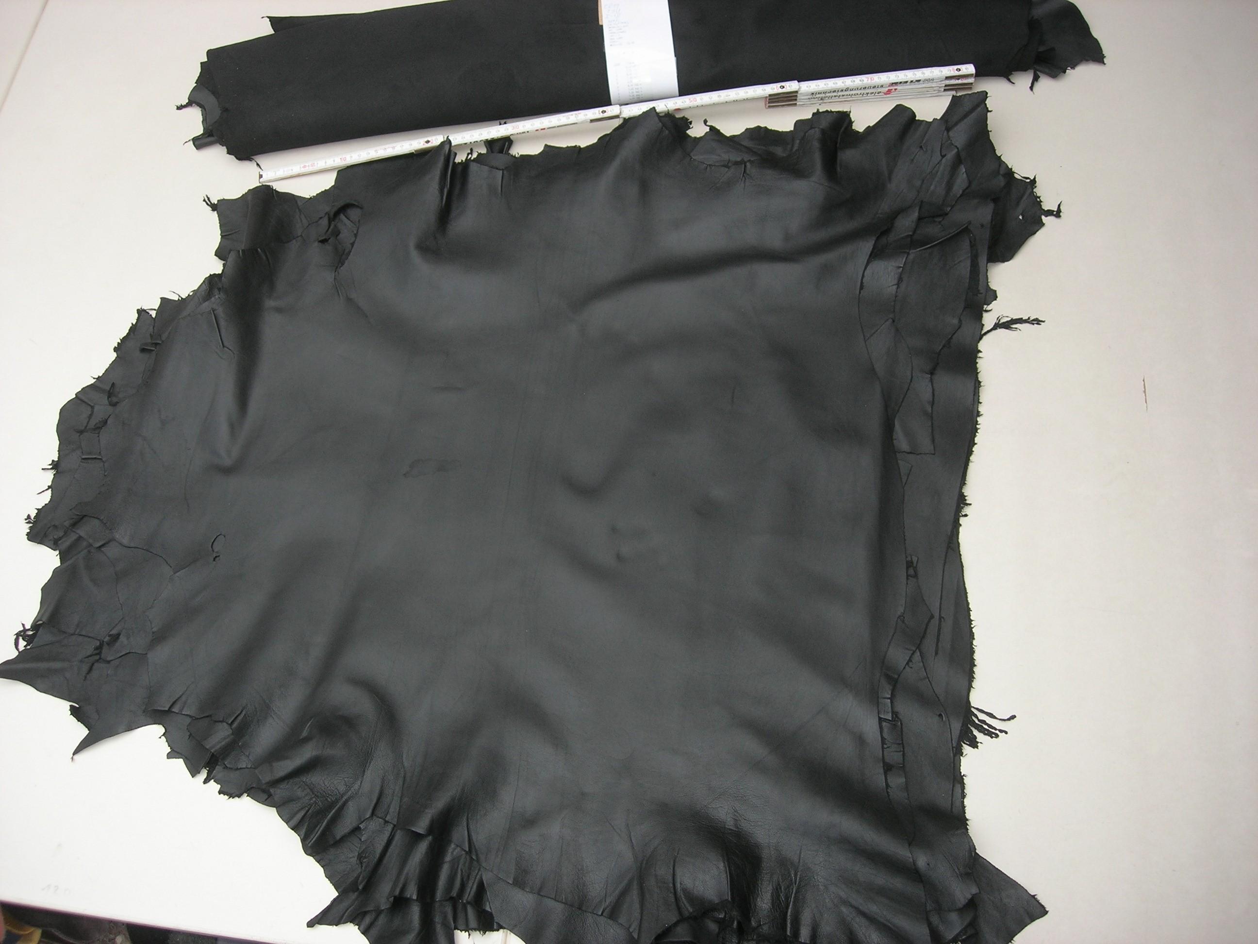 Lammnappa schwarz 2.-3.Sortiment (ER19150) 0,4 - 0,7 mm