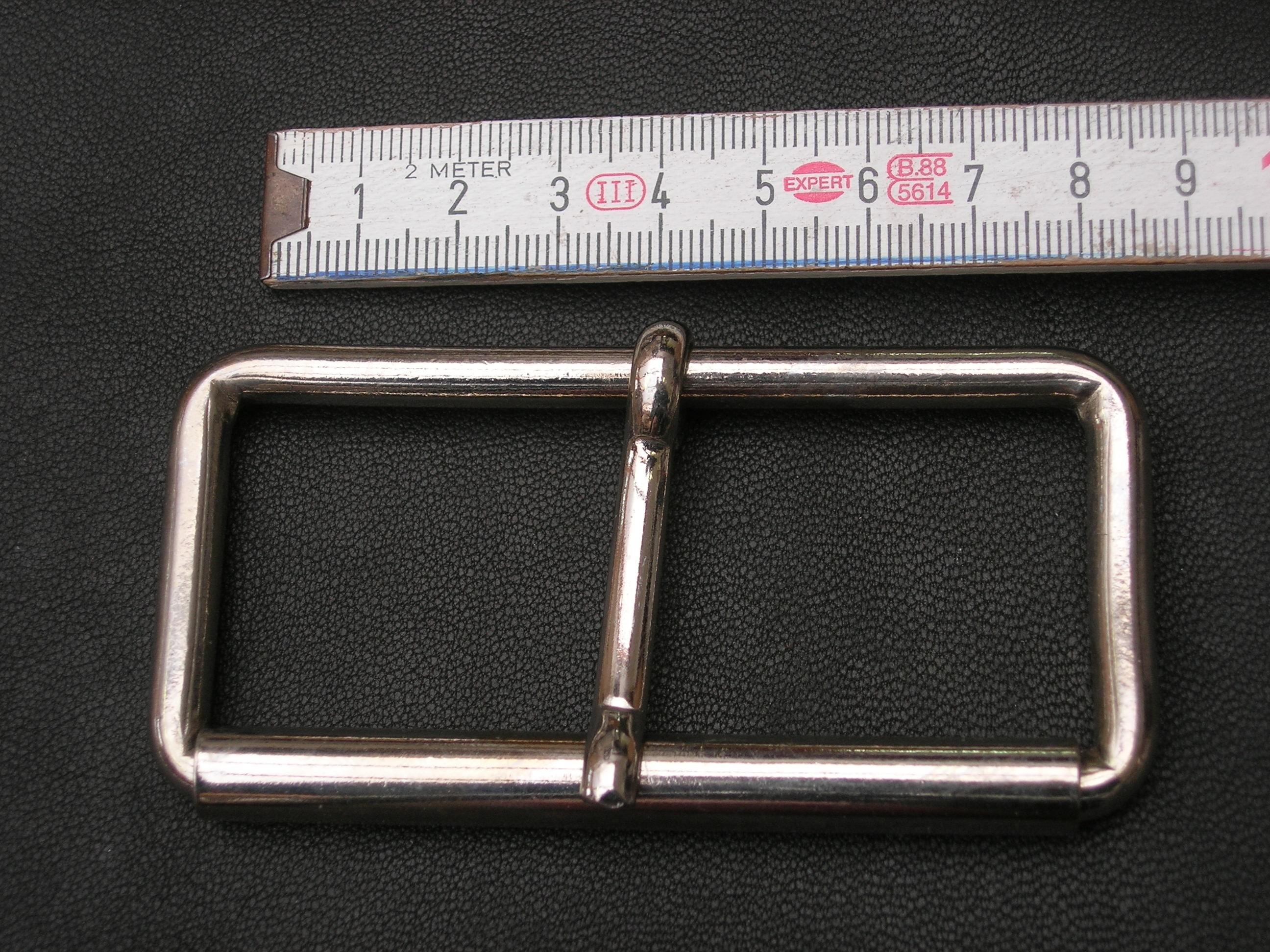 Rollschnalle 8,0 cm vernickelt (SS1310KR8)