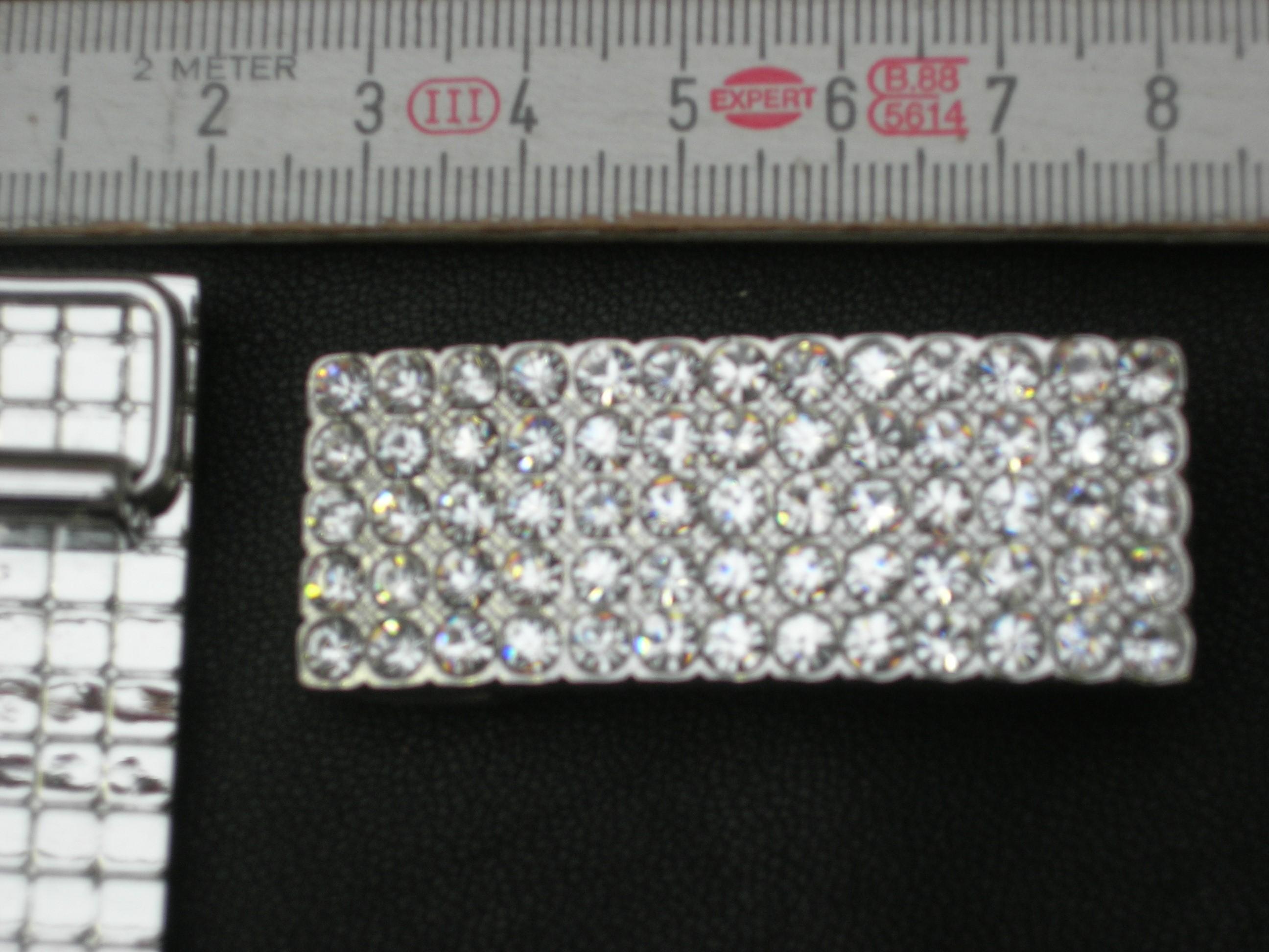 Strassschnalle 1,5 cm (BZ14ST)