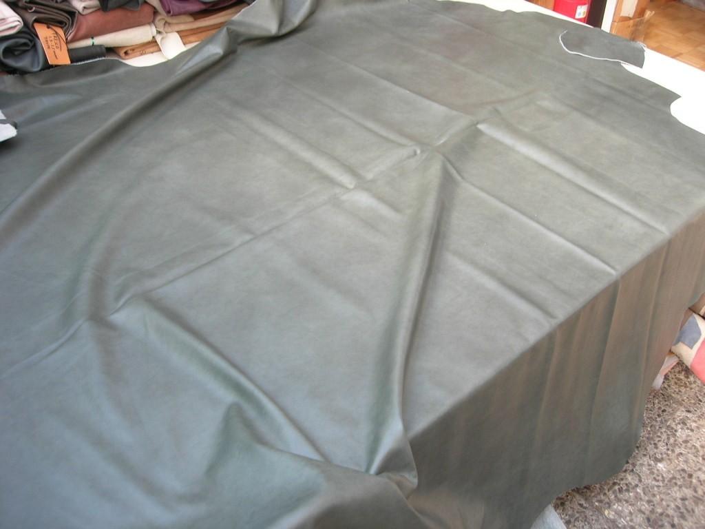 Rindleder grau grün antik 1,2 mm (E191150KG1)