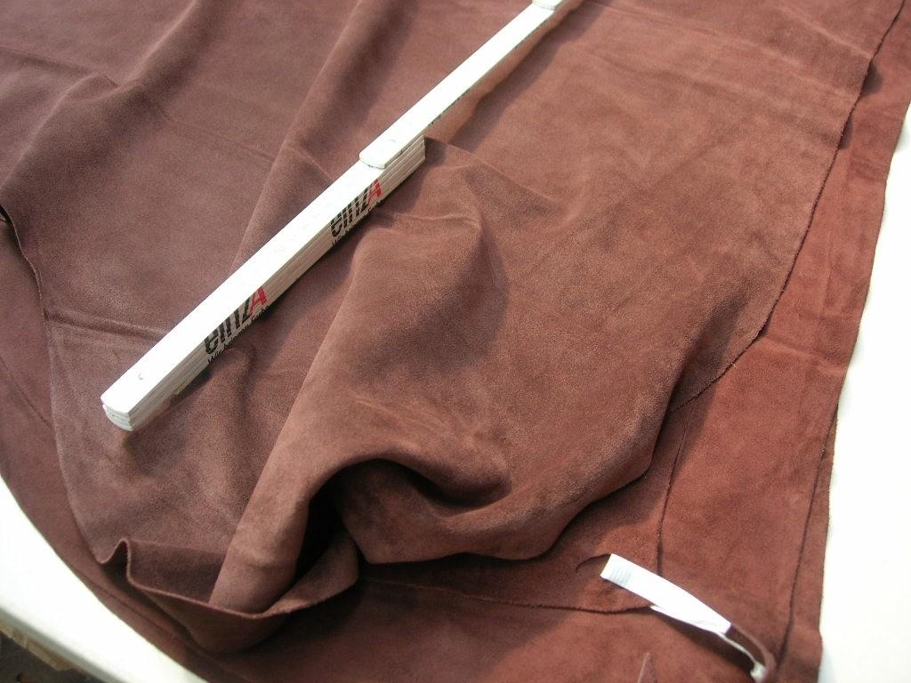 Rindspaltvelour kastanie (O1813SPK) 0,8-1,0 mm