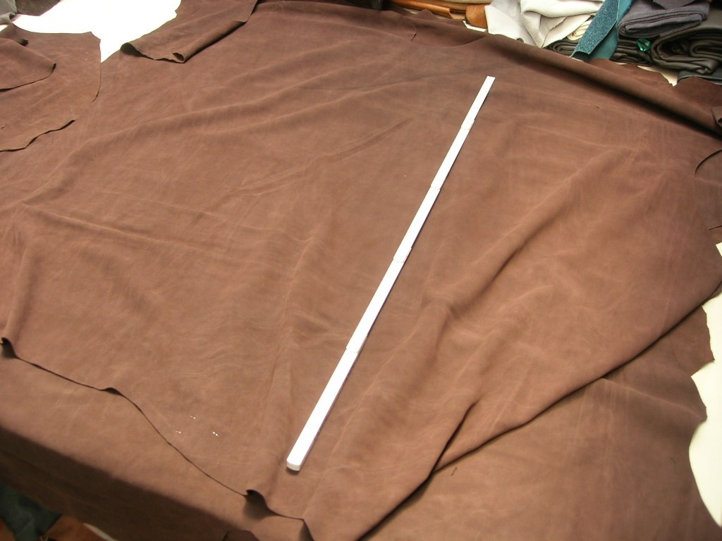 Rindspaltvelour mittelbraun 1,4 mm (O1813SPB1)