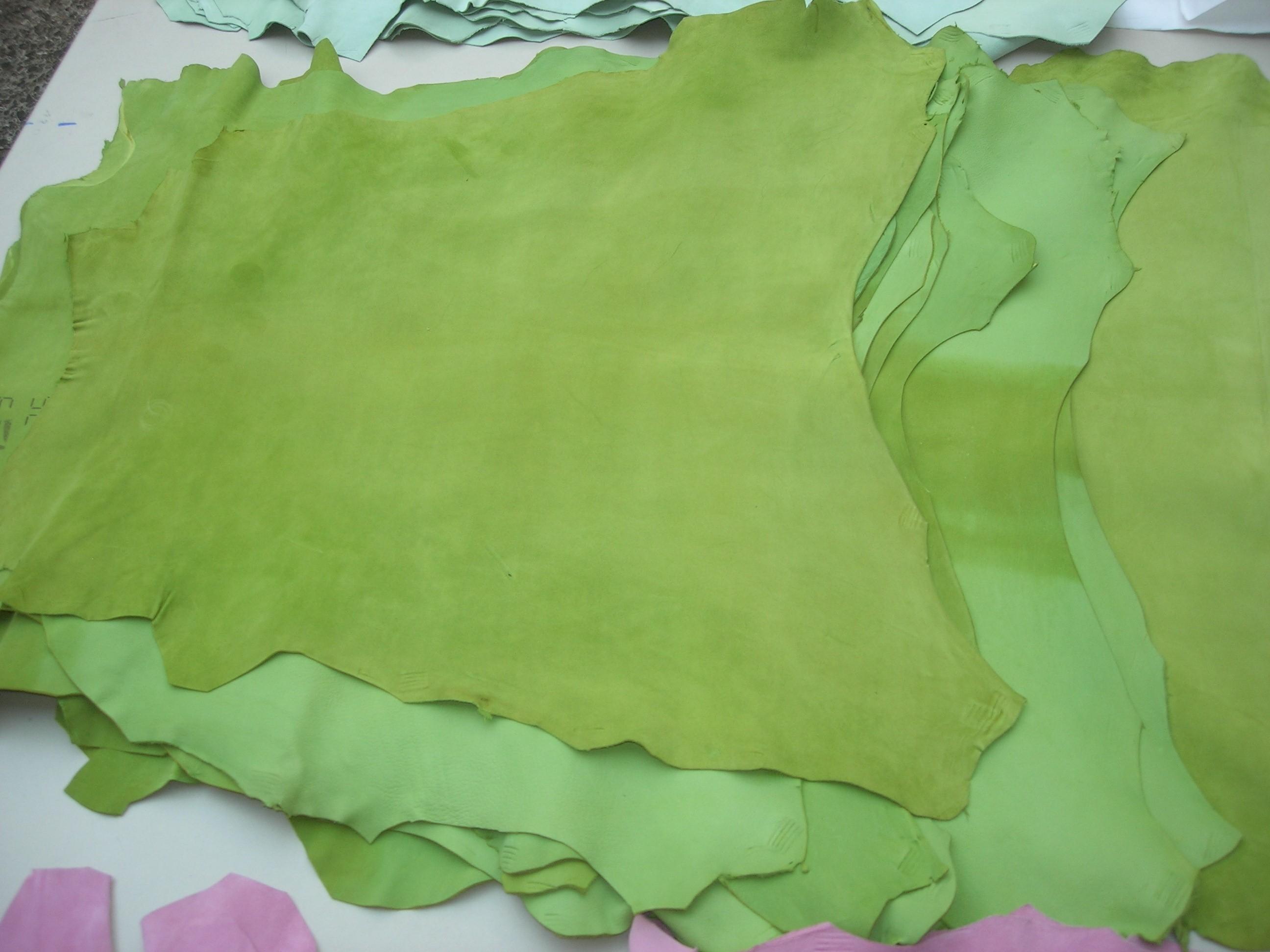 Ziegenvelour lemon-green 0,7 mm weich (O1813KZVLG)