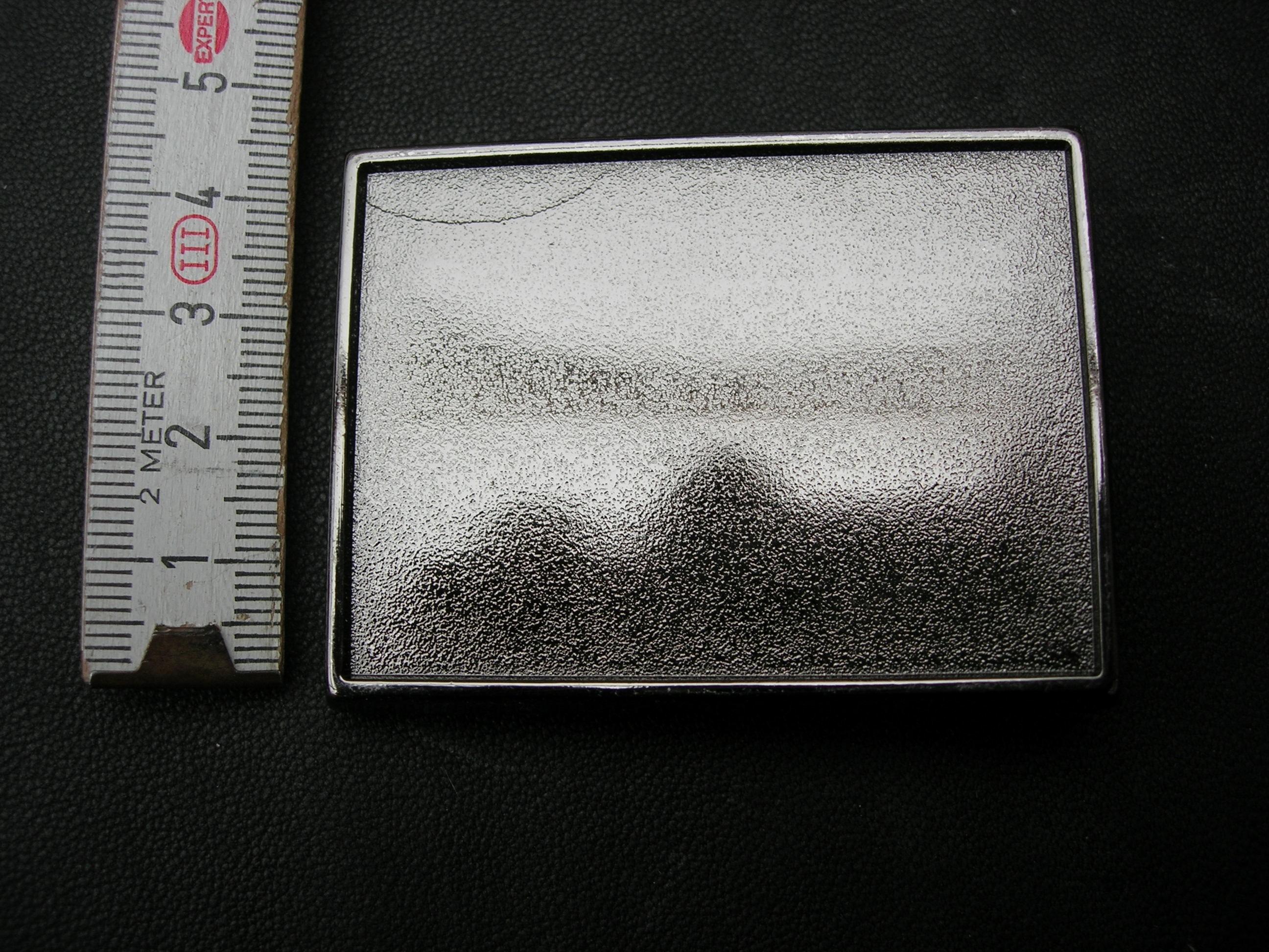 Koppelschnallenrohling 3,5 cm (KSRO35)