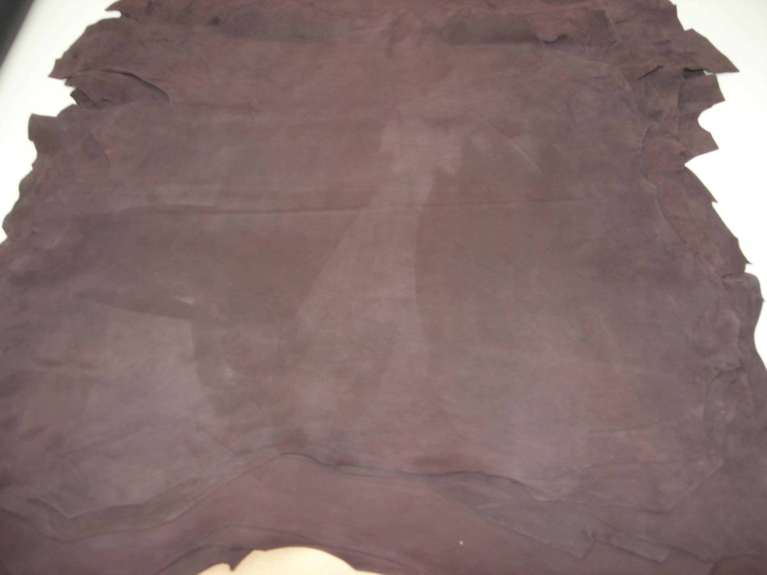 Ziegenvelour dunkelbraun (01813KZVDB)