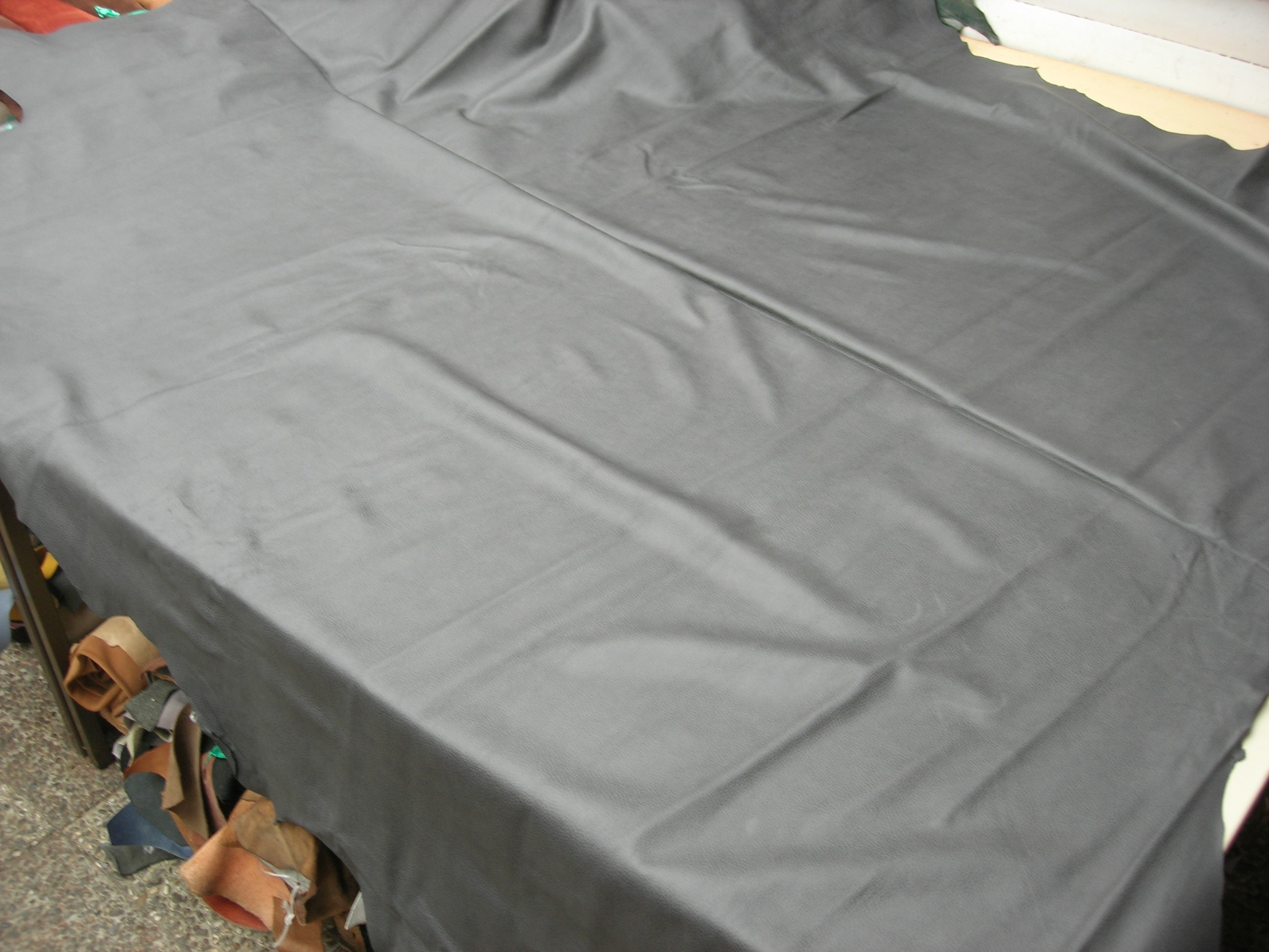 Möbelleder grau 1,2mm gedeckt (E191150KGR20)