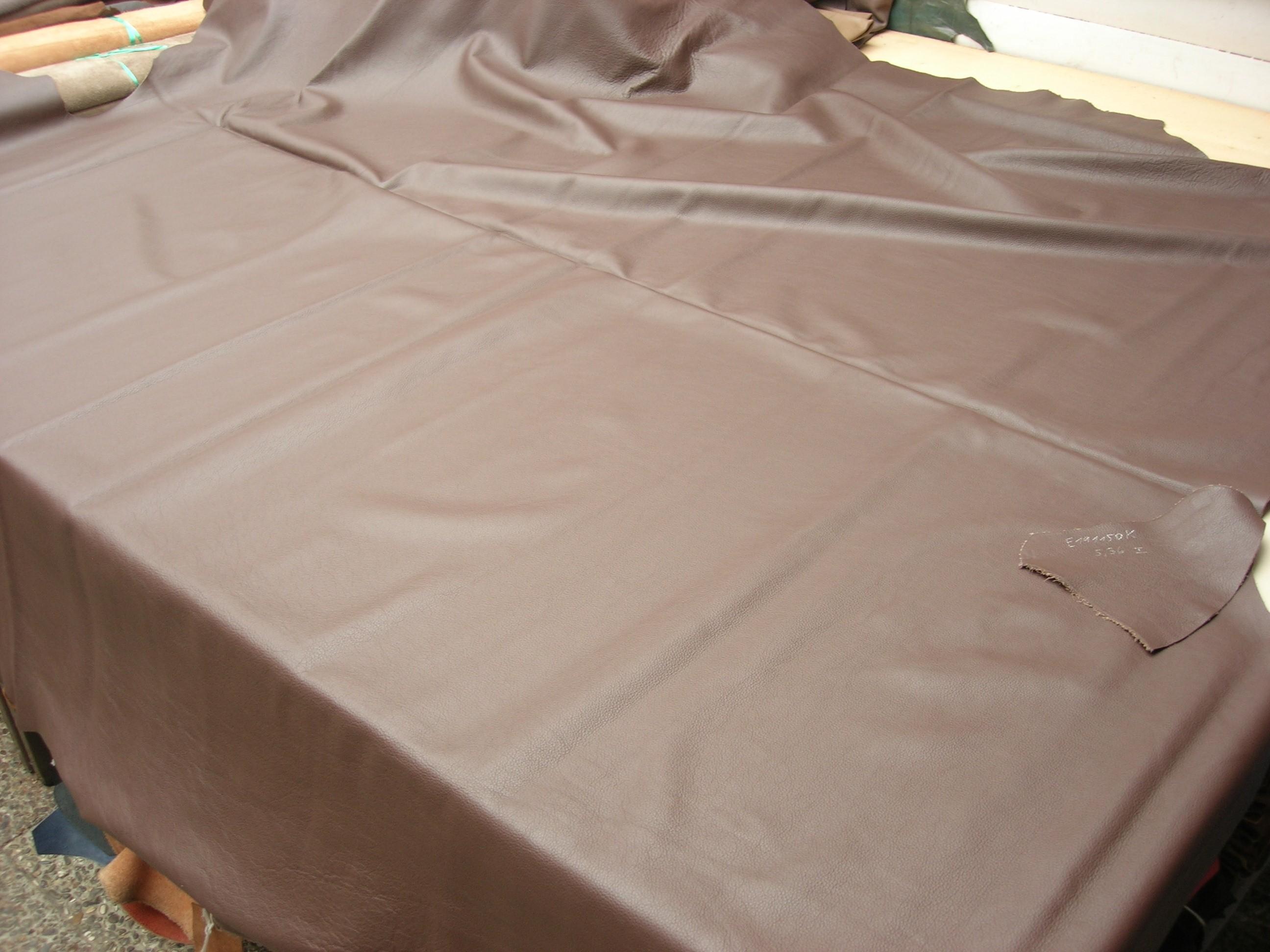 Möbelleder dunkelbraun 1,3mm gedeckt (E191150KDB26)