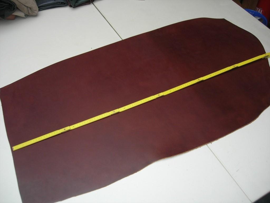 Wasserbüffelcroupon braun poliert, ca. 3,5 mm (EC2036BP)