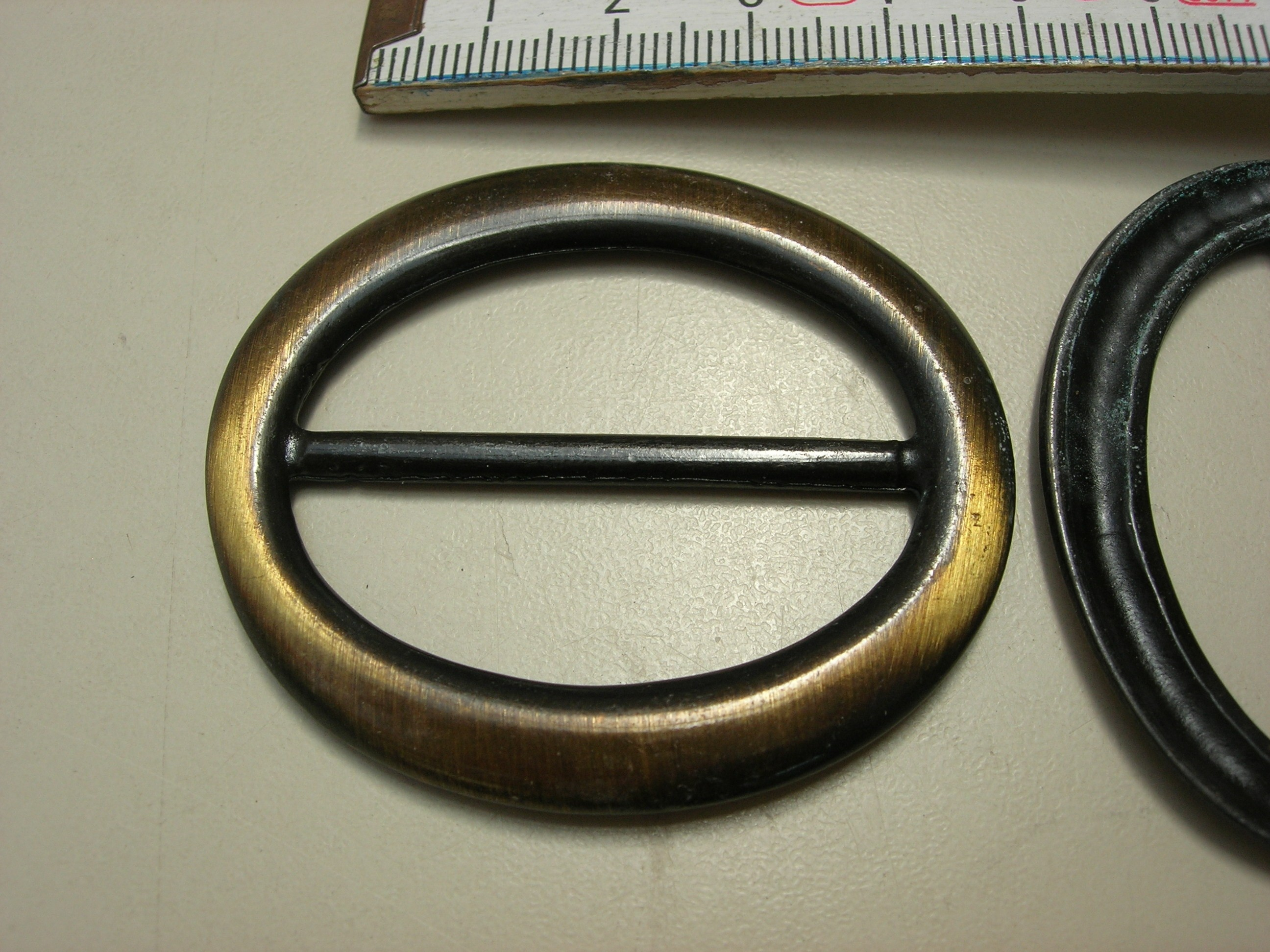 Versteller / Schließe 4 cm altmessing (A1900V4M)