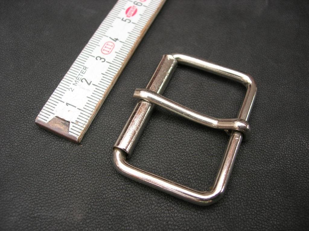 Rollschnalle 4,0 cm vernickelt (RS0912/40)