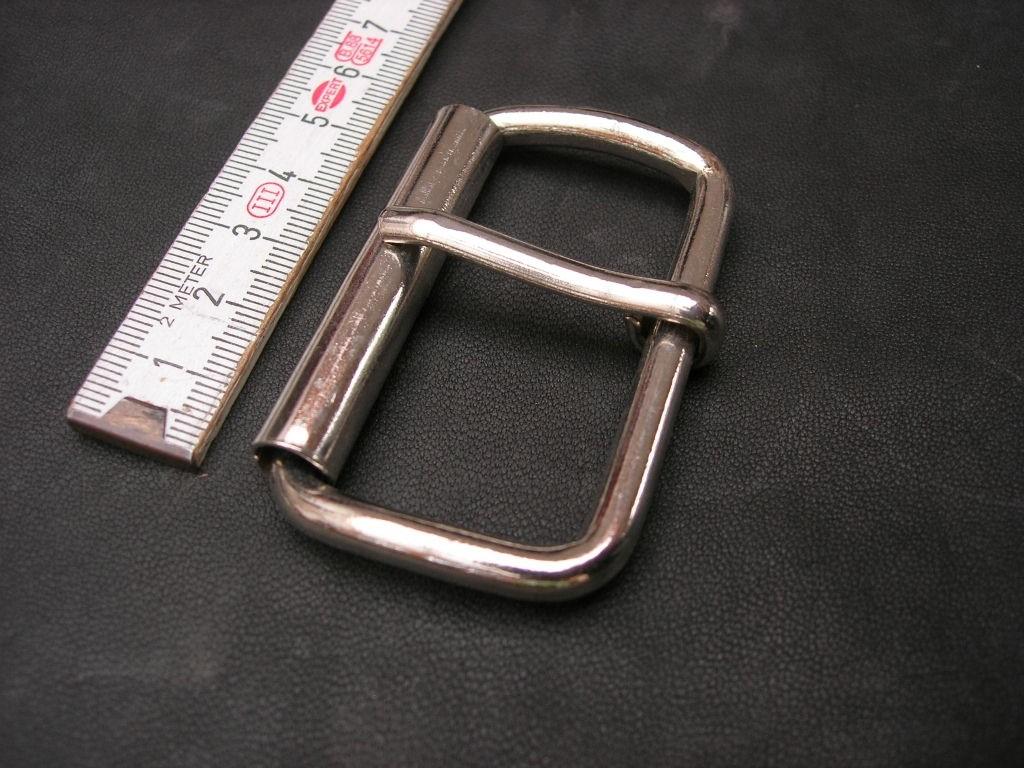 Rollschnalle 5,0 cm vernickelt (0997/50)