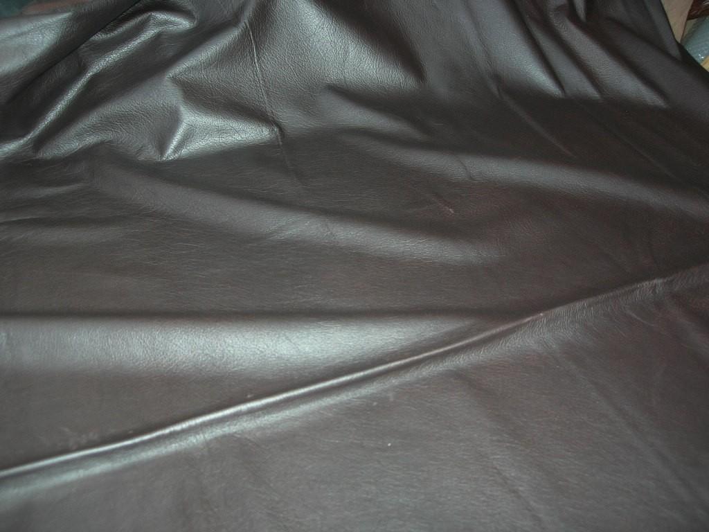 Möbelleder dunkelbraun genarbt 1,2mm (E201150KDB20)