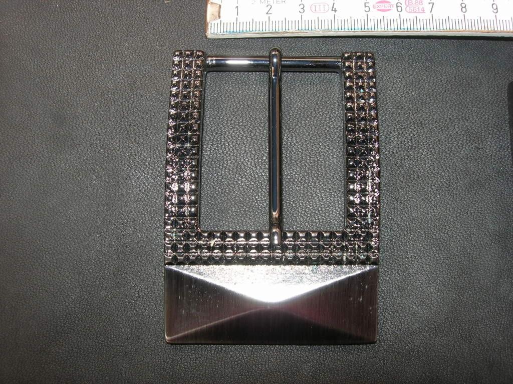 Halbschnalle 4,0 cm bronziert (BZBZ4)