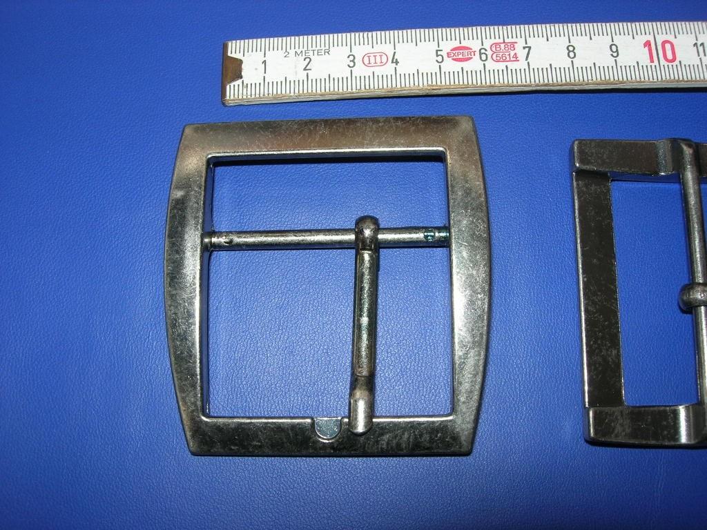 Doppelschnalle 5,0 cm bronziert (E19K13)