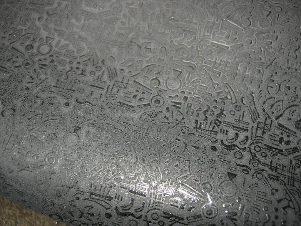 Rindspaltcroupon schwarz Hyroglüfen 1,1mm (C151250KS)
