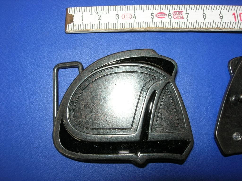 Koppelschnalle 4,0 cm brüniert (E19K17)
