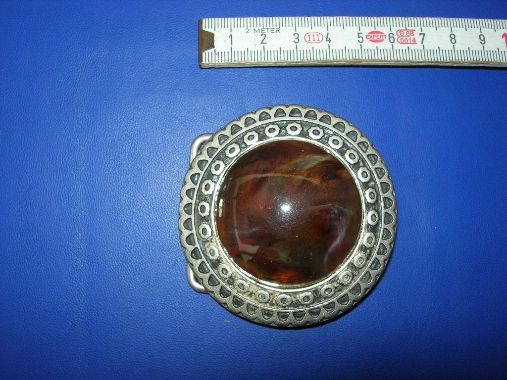 Koppelschnalle 4,0 cm altsilber (E19K23)