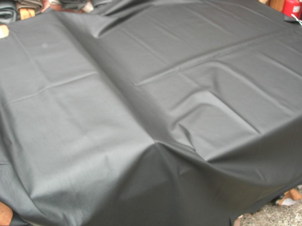 Rindleder schwarz semi - leicht chromfrei 1,0mm (F2116S)
