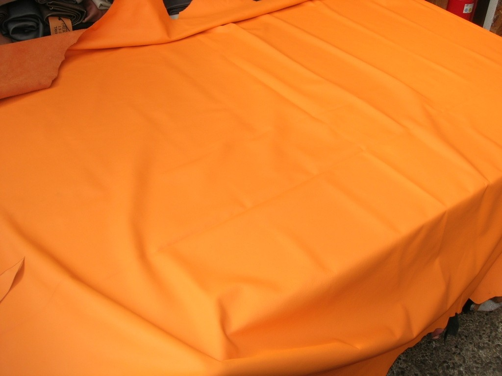 Möbelleder orange 1,2mm semi (FA2114R1)