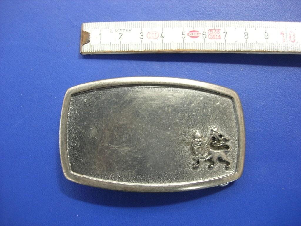Koppelschnalle 4,0 cm alteisen (E19K39)