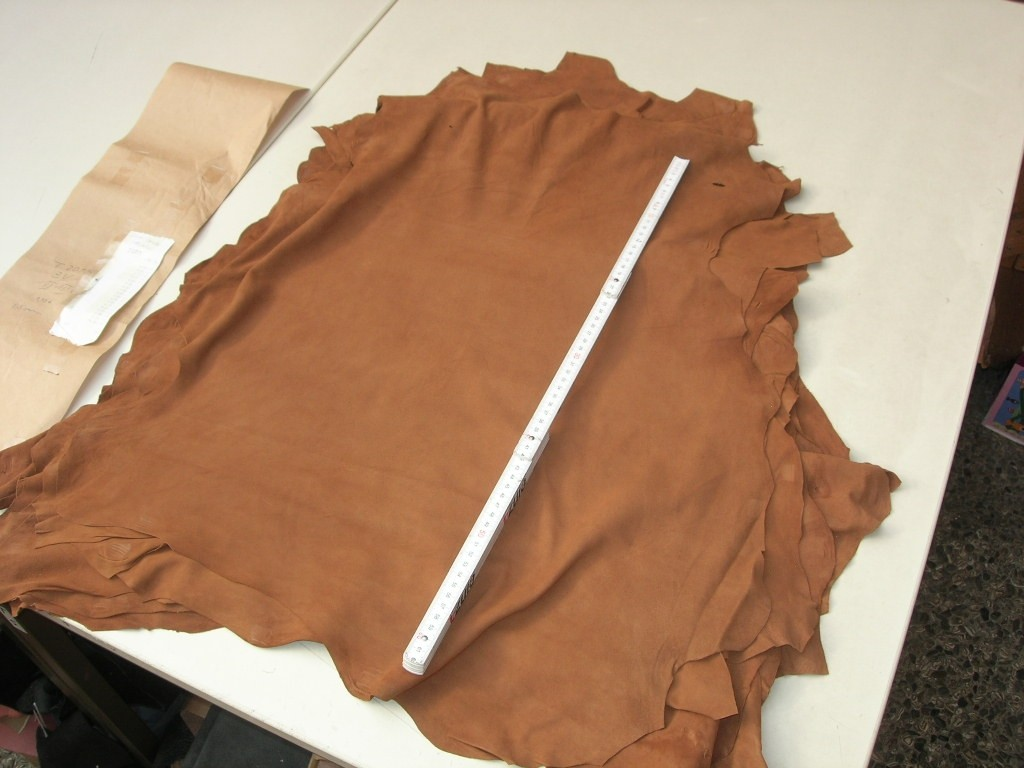 Ziegenvelour cognac 0,5mm (T2015ZC)