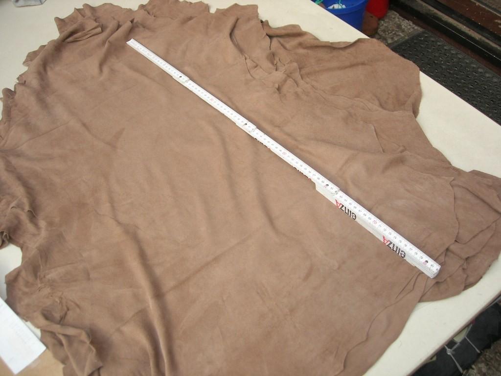 Lammvelour hellbraun 0,5mm (A2021K)
