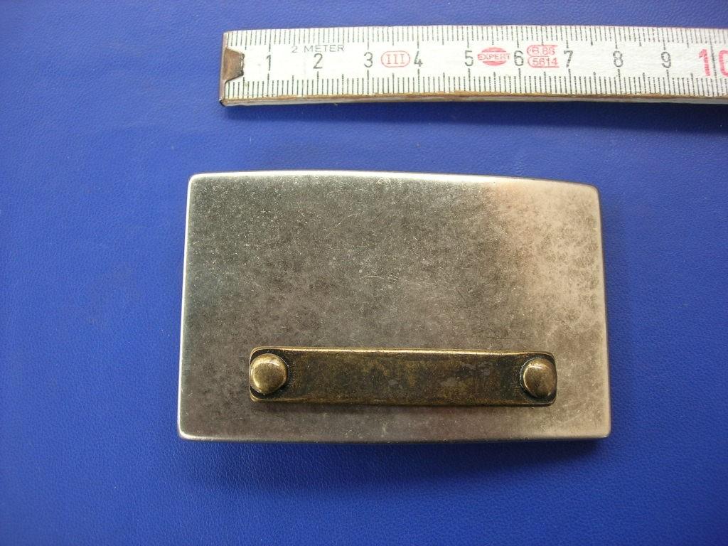 Koppelschnalle 4,0 cm altsilber (E19K80)