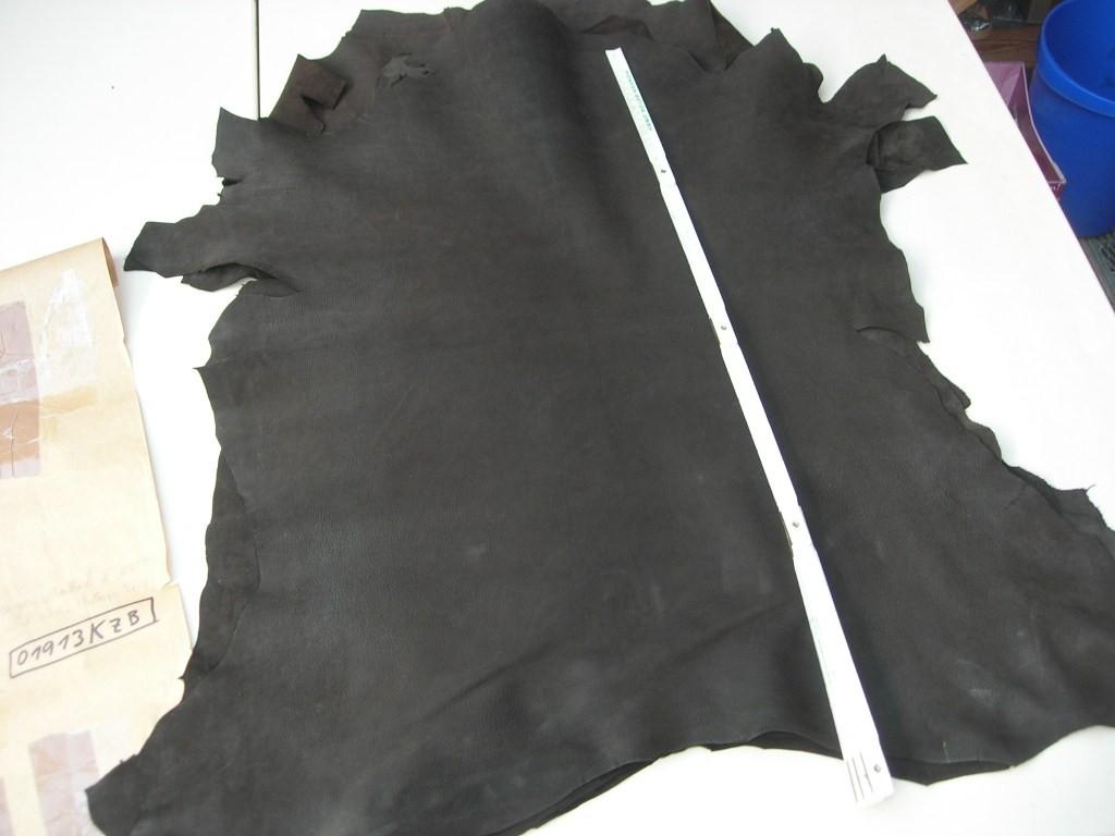 Ziegennubuk dunkelbraun 1,2mm (O1913KZB)