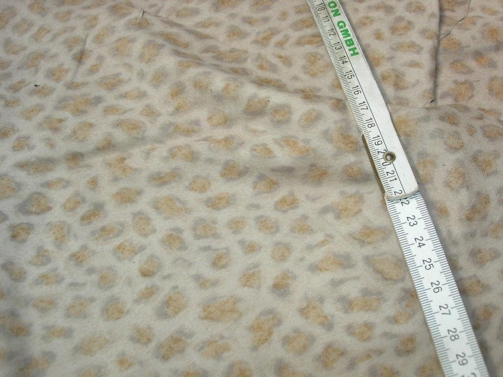 Ziegenvelour beige leodruck 0,3mm (A1920KZL)