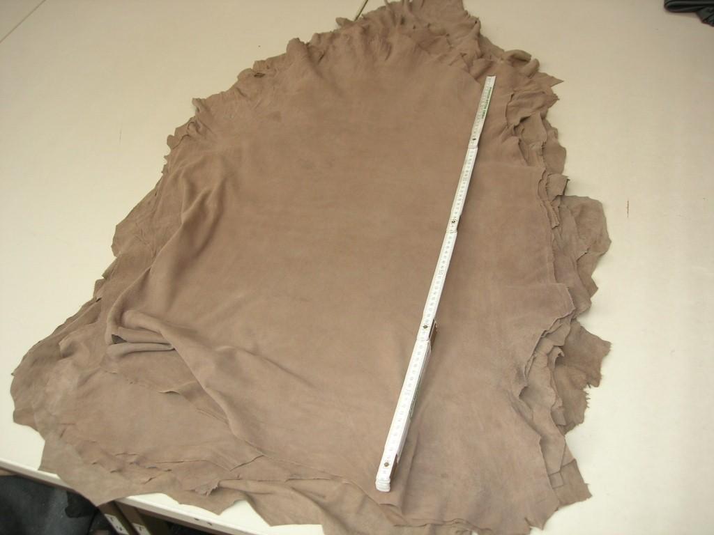 Lammvelour beige grau 0,5mm (A2020KB)