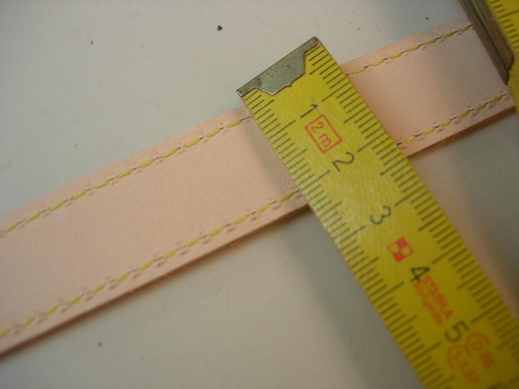 Ledergriffe natur 20mm breit auf 5 m Rollen (NG20)