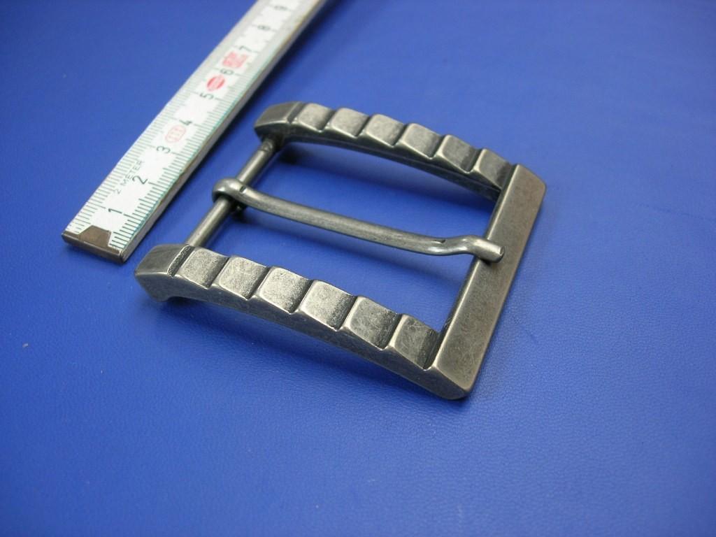 Halbschnallen 4,0 cm altnickel (E19K111)