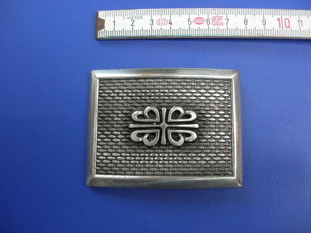 Koppelschnalle 5,0 cm altsilber (E19K141) Zur Zeit leider ausverkauft.