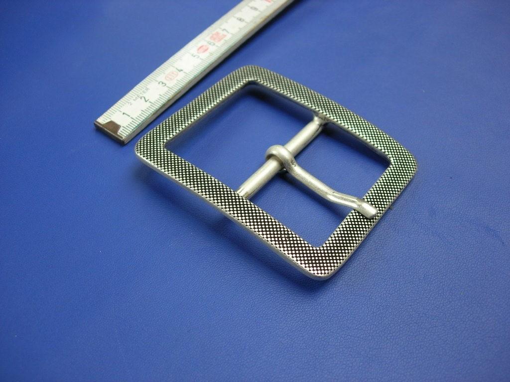 Doppelschnallen 5,0 cm altsilber (E19K136)