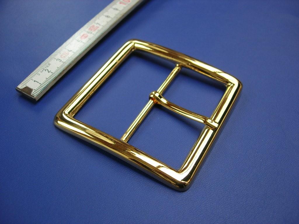 Doppelschnalle 6,0 cm Schmuckgold (E19K159)