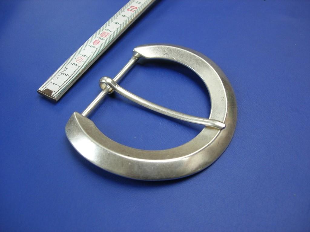 Halbschnallen 6,0 cm altsilber (E19K155)